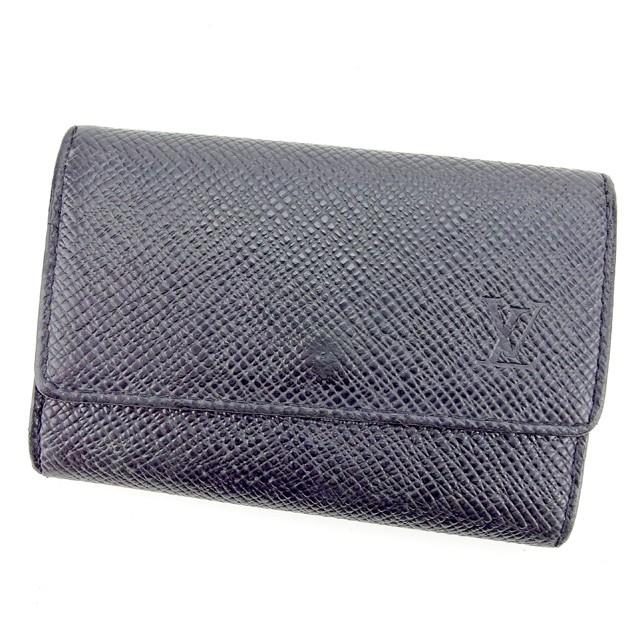 ルイ ヴィトン Louis Vuitton キーケース 6連キーケース メンズ タイガ 【中古】 E1143|au Wowma!(ワウマ)