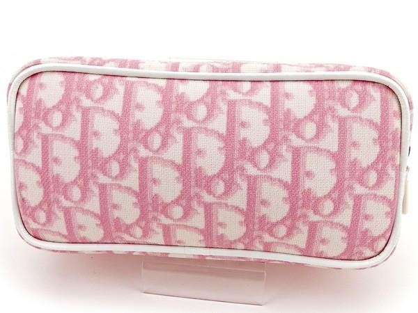 online store 32509 272f2 ディオール Dior ポーチ 化粧ポーチ レディース トロッター 【新品 未使用】 T2736|au Wowma!(ワウマ)