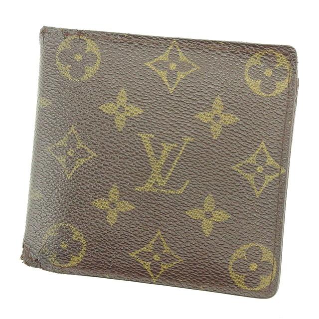 ルイヴィトン Louis Vuitton 財布 二つ折り財布 モノグラム レディース メンズ 中古 G1163の通販はWowma!(ワウマ) ,  ブランドデポTOKYO|商品ロットナンバー: