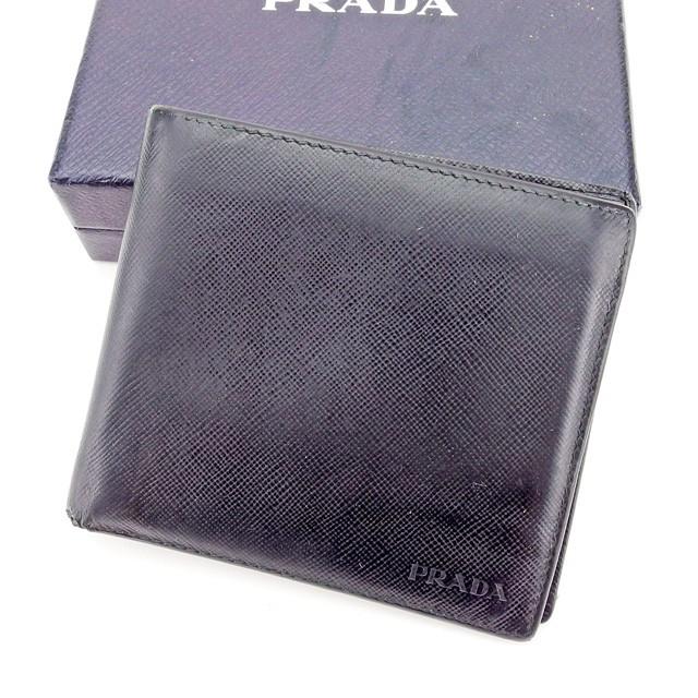 0c87546a474f プラダ PRADA 二つ折り財布 財布 小物 サイフ 財布 小物 財布 サイフ レディース メンズ 可 ロゴ