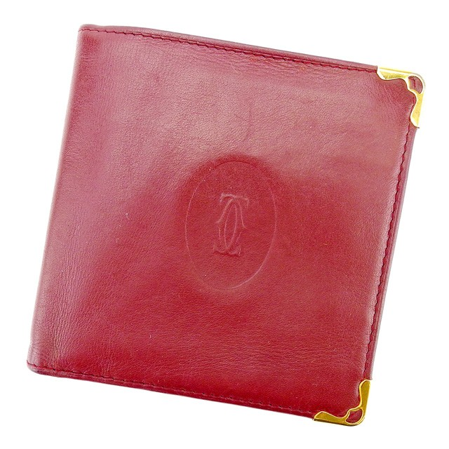 0e32514d6347 カルティエ Cartier 二つ折り財布 財布 小物 サイフ 財布 小物 財布 サイフ レディース メンズ 可 マスト