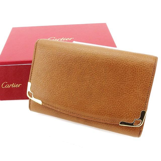 263a9e6033ba カルティエ Cartier L字ファスナー 財布 小物 財布 サイフ 二つ折り 財布 小物 レディース メンズ 可