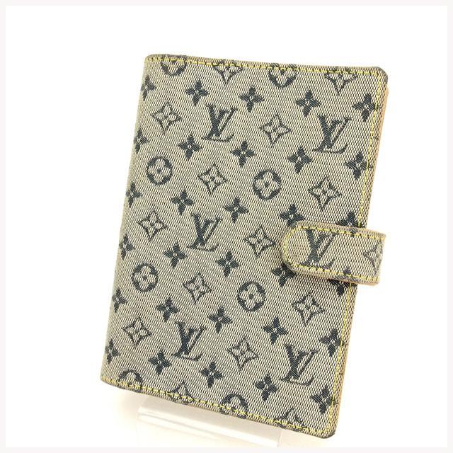 5d90d4f99b87 ルイ ヴィトン Louis Vuitton 手帳カバー レディース モノグラム ミニ 【中古】 Y701