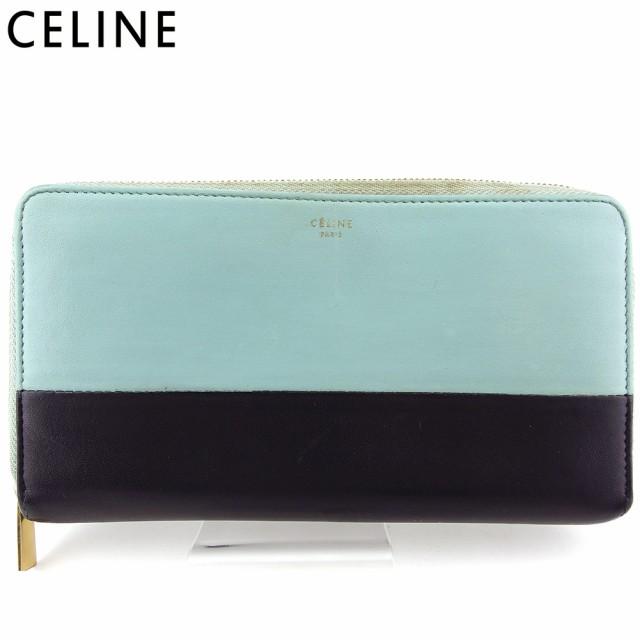 【超安い】 セリーヌ 長財布 ラウンドファスナー レディース メンズ バイカラー Celine, ウラガワラムラ a271e889