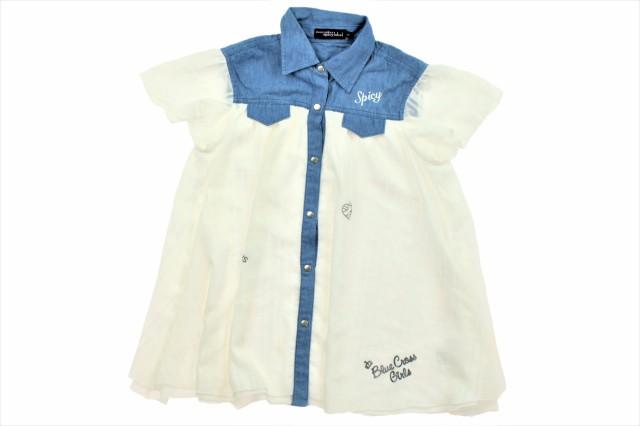 b9080d9193dc2 ブルークロス BLUECROSS シャツ・ブラウス 160サイズ 女の子 USED子供 ...