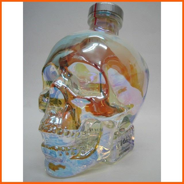 クリスタルヘッド オーロラ 骸骨ボトル 40度 700ml【あす着対応】