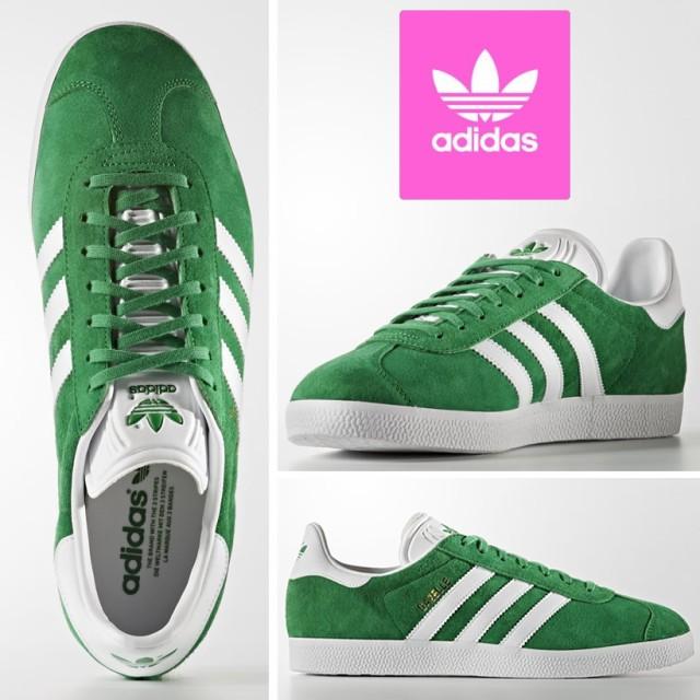 adidas スニーカー 緑