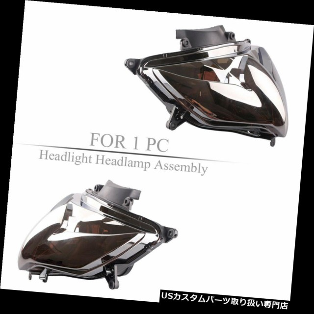 【代引き不可】 バイク ヘッドライト スズキGSXR600 / 750 K8 2008-2010用フロントヘッドライトヘッドランプアセンブリ Front Headlight Head Lamp Ass, 辣椒漢 99b00f49