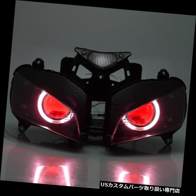 【福袋セール】 バイク ヘッドライト Honda CBR1000 2004-2007のためのアセンブリ隠されたプロジェクターヘッドライトエンジェルレッドデビルアイ Asse, エクステリアG-STYLE 6da0c2e8