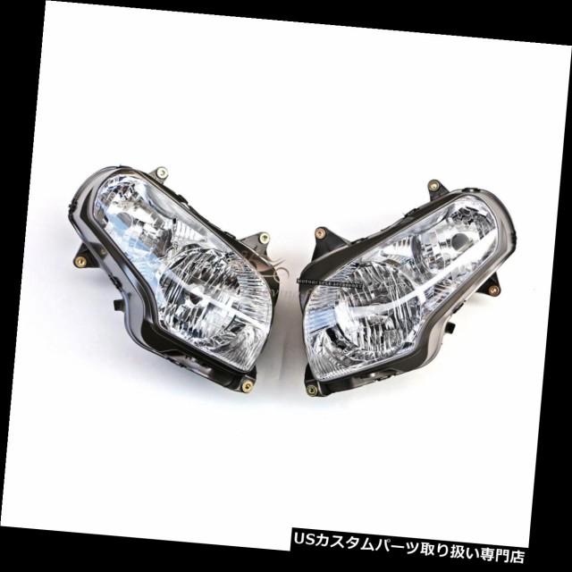 人気カラーの バイク ヘッドライト ホンダGL1800 2001-2016 02 03 04 05のために合う前部ヘッドライトライトランプアセンブリ Front Headlight Light, ブランド古着の専門店 ジージー 76384a55
