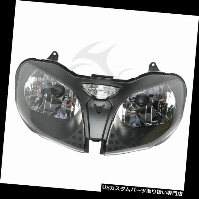 【新品、本物、当店在庫だから安心】 バイク ヘッドライト KAWASAKI NINJA ZX 9R ZX9R 2000-2003 2001年用フロントヘッドランプヘッドライト照明 Front Headlamp Headlight, アタミシ ba365dff