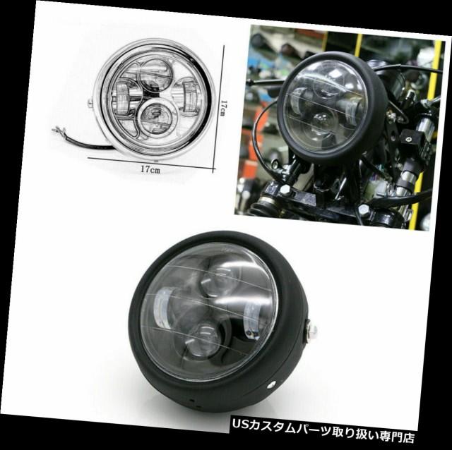 "1X 12V 6.5/"" Motorcycle LED Hi Low Beam Light Bulb 6000K 35W Moto Front Headlight"
