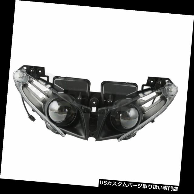 お見舞い バイク ヘッドライト ヤマハYZF R1 YZE-R1 YZFR1 2012-2014年のために合う前部LEDのヘッドライトランプアセンブリ Front LED Headlight, タマナシ 27ec2059