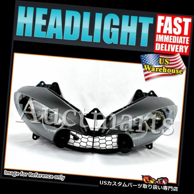 【ラッピング無料】 バイク ヘッドライト Yamaha YZF R6 03-05のための私達の標準的なヘッドライトアセンブリYZF R6S 06-09 04 07 C#13 GX US Stock Headl, ネットショップむつみ屋 cc940e05