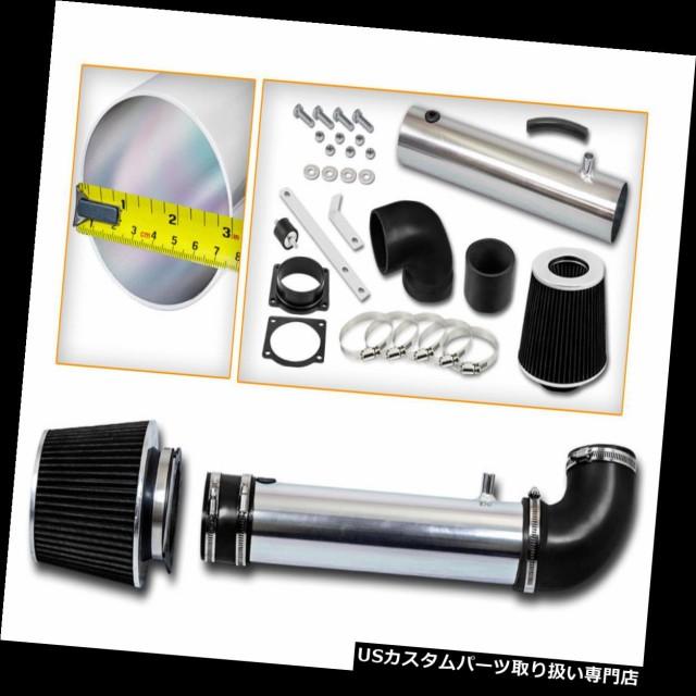 Filter BCP BLACK 95-00 Explorer//Ranger//B4000 OHV 4.0L V6 Air Intake Induction