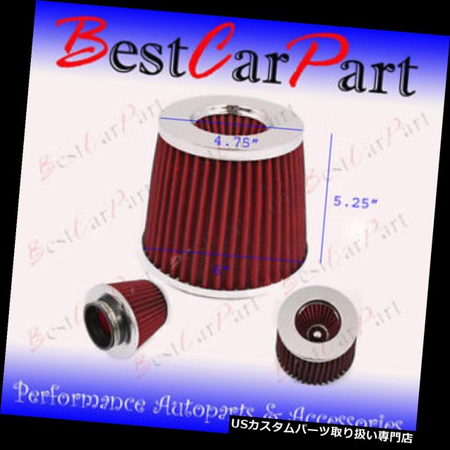 """3.5 Inches 89 mm Cold Air Intake Cone Filter 3.5/"""" New"""