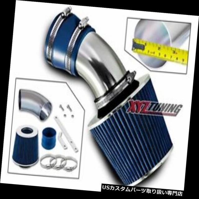 BLUE Short Ram Air Intake+Filter For 98-05 BMW E46 323//325//328//330 All Models