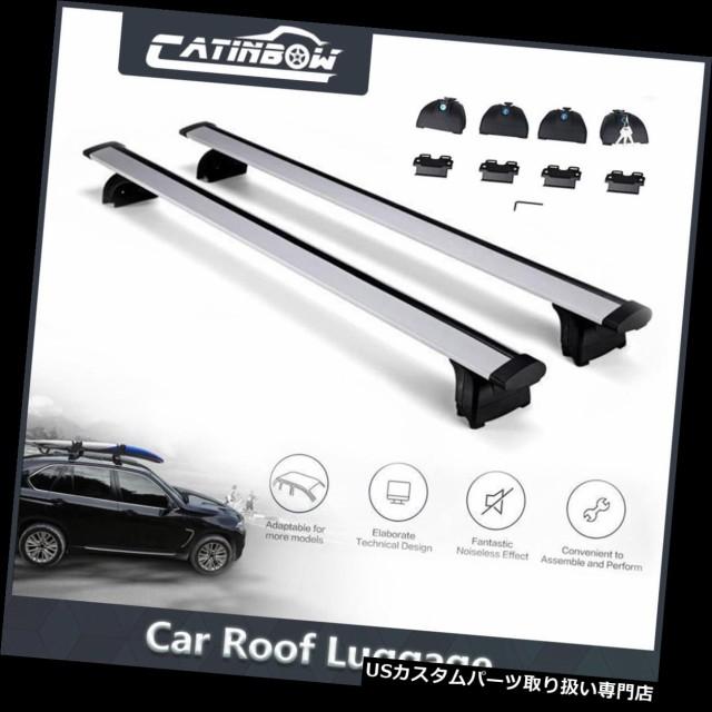 "Q7 16 X1 SUV 47/"" Roof Rack Cross Bar Rail Cargo Carrier Fits 08 Audi Q5 06"