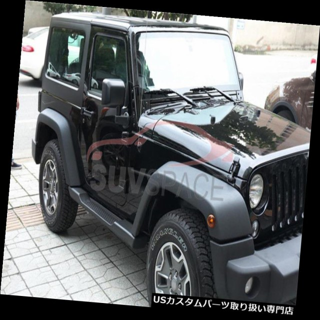 FOR 07-17 Jeep Wrangler JK 2DR Style Factory Side Step Running Board Nerf Bar