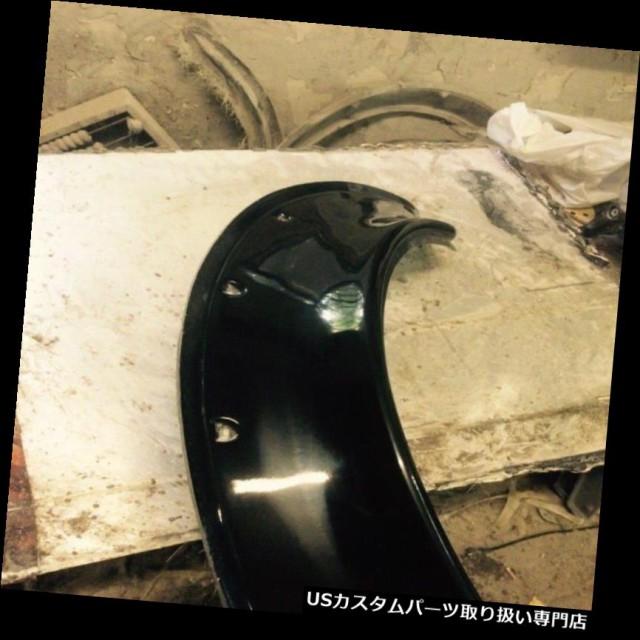 "4/"" NEW School JDM Fender Flares Universal fiberglass 4pcs"