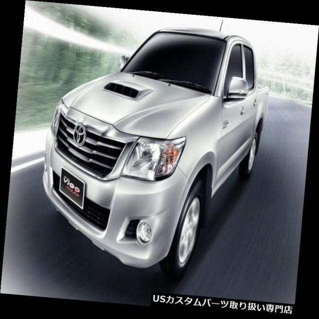 TailGate Tailgate Handle Cover V2 Chrome For Toyota Hilux Vigo Champ 2011 2014