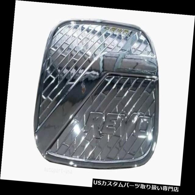Fit For Toyota Hilux Revo 2015-2017 Chrome Cap Fuel Tank Cover Trim 4 Door