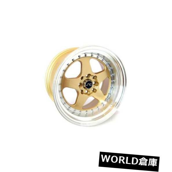 ブランド品専門の ホイール 4本セット 17x9 JNC 010 JNC010 5x112 25ゴールドマシンリップホイールリムセット(4) 17x9 JN, ミシン屋さん117 933afa3f