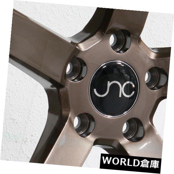 【超お買い得!】 ホイール 4本セット 18x9 JNC 026 JNC026 5x100 32グロスブロンズホイールリムセット(4) 18x9 JNC 0, キノサキチョウ 23a5f2ba