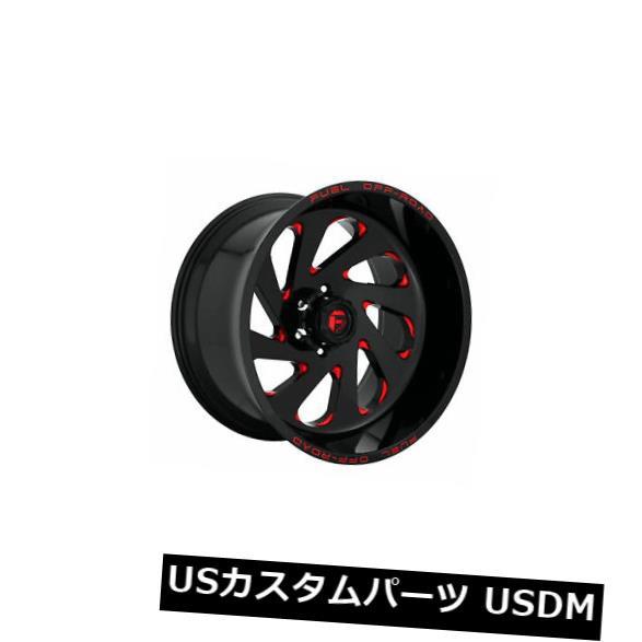 贅沢 ホイール 4本セット 4 x 20x10 Fuel D638 Vortex ET -18 Red 5x139.7 Wheels Rimsのセ, マサニ電気株式会社 de62d7ea