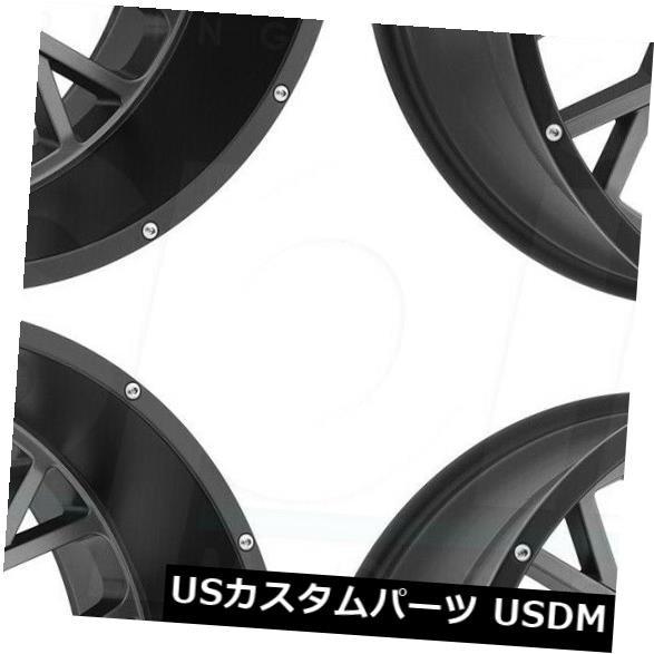 ベストセラー ホイール 4本セット 20x9ガンメタルブラックリップホイールビジョン412ロッカー8x180 12(4個セット) 20x9 Gunmet, オーダースーツHANABISHI 9aa97c2c