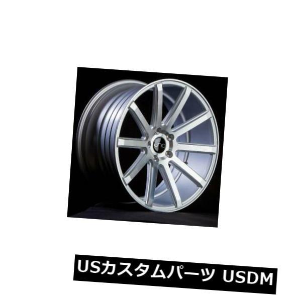 【高価値】 ホイール 4本セット 18x8.5シルバーマシンフェイスホイールJNC 024 JNC024 5x114.3 35(4個セット) 18x8, 京都 漆器の井助 通販 02bdb548