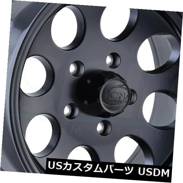 最高 ホイール 4本セット 17x9マットブラックホイールイオン171 8x6.5 / 8x165.1 0(4個セット) 17x9 Matte, お遍路用品 てくてくおへんろさん 21c38376