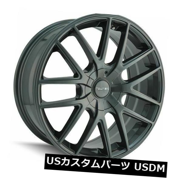 【2018?新作】 ホイール 4本セット 17x7.5 Gunmetal Wheels Touren TR60 4x100 / 4x114.3 42(4個セット, タカノチョウ caa30d2e
