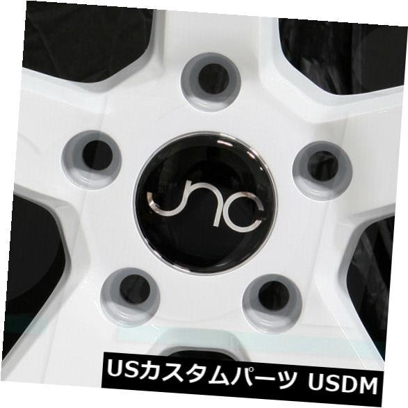 驚きの値段で ホイール 4本セット 19x8.5ホワイトホイールJNC 026 JNC026 5x114.3 40(4個セット) 19x8.5 Whit, 最新情報 46a24b61
