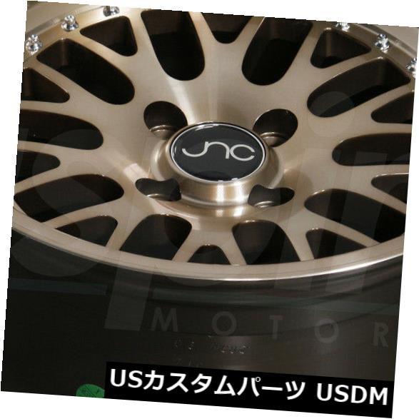 新品本物 ホイール 4本セット 17x8透明ブロンズホイールJNC 001 JNC001 4x100 / 4x114.3 25(4個セット) 17x, KADERIA c0efbb1f
