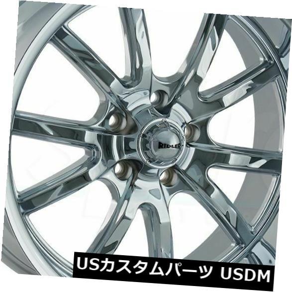 入荷中 ホイール 4本セット 18x8 / 18x9.5 Chrome Wheels Ridler 650 5x5 / 5x127 0/0(4個セッ, JJ LIFE 5953beb0