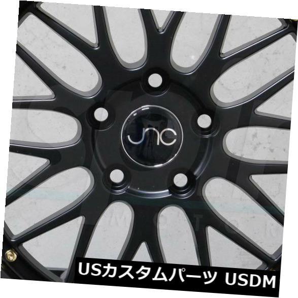 超美品の ホイール 4本セット 4-新しい20インチJNC 005 JNC005ホイール20x8.5 5x120 30ブラック。リム 4-New 2, 空間工房リンクル 3dc9cc0e