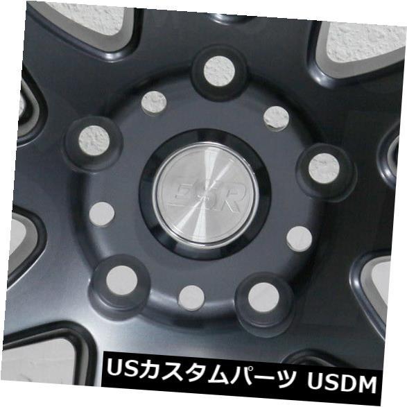 ずっと気になってた ホイール 4本セット 4-新しい19インチESR SR08 SR8ホイール19x8.5 5x120 30チタンリム 4-New 19