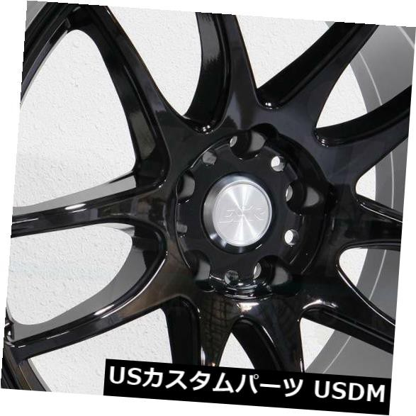 愛用 ホイール 4本セット 18x9.5 / 18x10.5 ESR SR08 SR8 5x112 15/15グロスブラックホイールリムセット(4, 泡盛ワールド 9f0be43e
