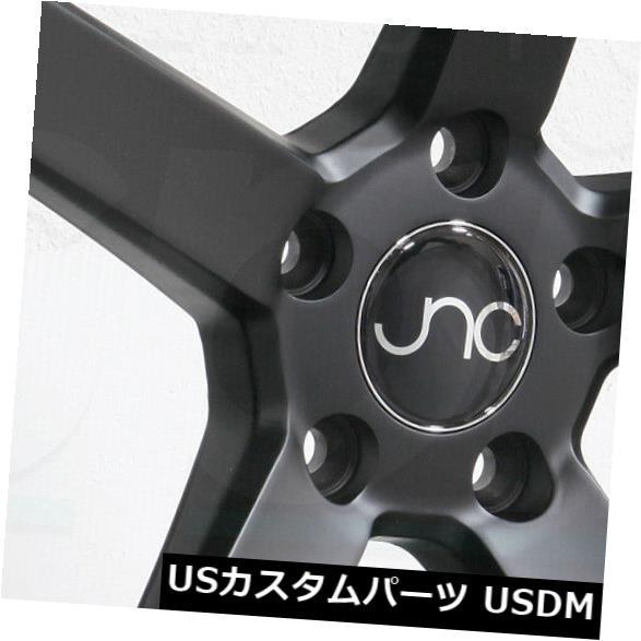 大人女性の ホイール 4本セット 20x8.5 JNC 026 JNC026 5x114.3 40マットブラックホイールリムセット(4) 20x8.5, くすりのチャンピオン 3e3cb451