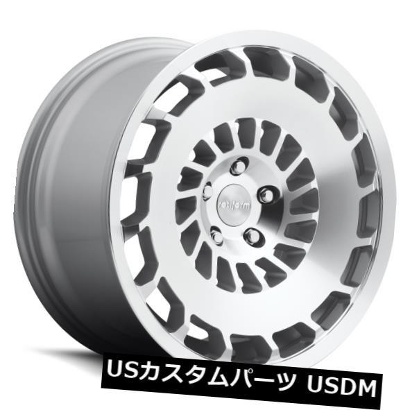 割引 ホイール 4本セット 19x8.5 ET45 Rotiform R135 Ccv 5x112 Silver & Machined, これありマーケット 4790ea15