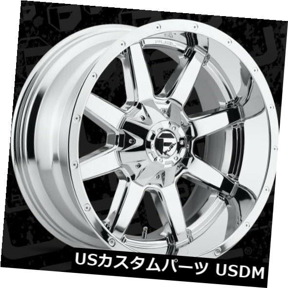 【再入荷!】 ホイール 4本セット 22x10 ET10 Fuel D536 Maverick 8x180 Chrome Wheels(4個セット) 2, 京近江ほっこり茶屋 d26e1a44