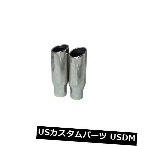 Silverado 88-95 dual exhaust 2.25 pipe Glass Pack muffler SW Tip