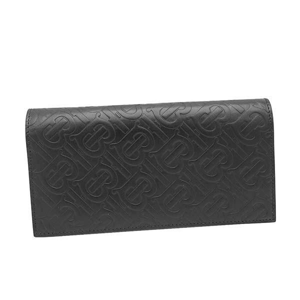 最適な材料 WALLET バーバリー CONTINENTAL 財布 長財布 VERTICAL 8017650 BLACK BURBERRY MONOGRAM A1189 比較対照価格71,280 円-財布