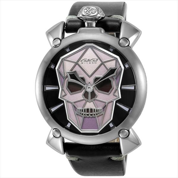 ずっと気になってた ガガミラノ 腕時計 GAGA MILANO 5060.01S-BLK GAG-506001S-BLK BLK 比較対照価格261,360 円, 蒲生町 b17d4aa4