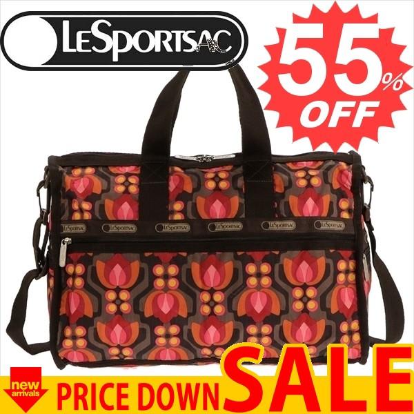 レスポートサック ボストンバッグ LESPORTSAC Midium Weekender 7184 D154 デコラマ Decorama 比較対照価格 16,200 円