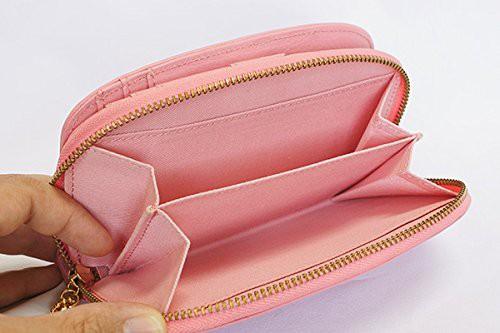 【送料無料 牛革】 pinkywolman (ピンキーウォルマン) ラウンド財布