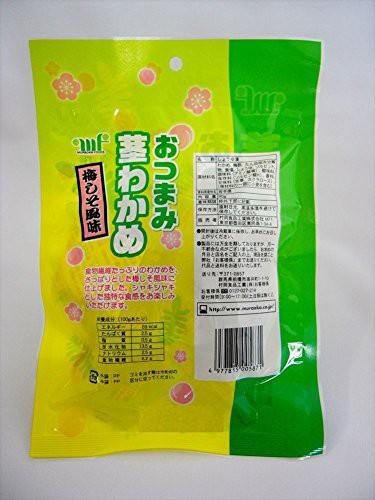 村岡食品 おつまみ茎わかめ(梅しそ風味) 80g×10袋