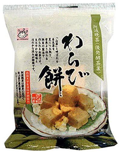 ヤマク食品 阿波晩茶 わらび餅100g×12袋