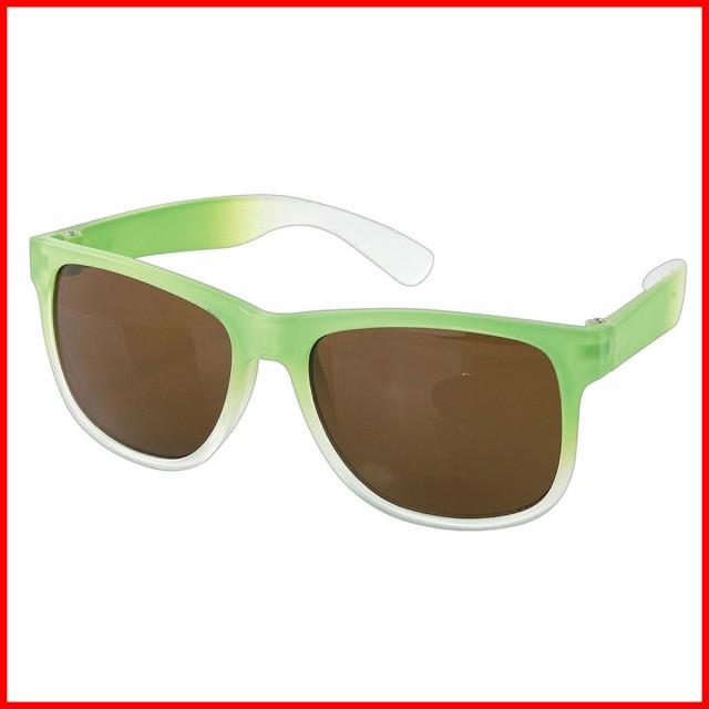 サングラス UV 紫外線カット ファッショングラス 子供 キッズ ジュニア 男の子 女の子 グリーン